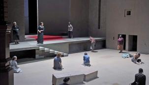 Elektra de Richard Strauss - Gran Teatre del Liceu, 2016. Director musical: Joan Pons. Direcció escènica: Patrice Chéreau. Reposició: Vincent Huguet - Photo: premsa