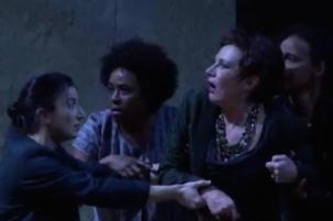 'Elektra' de Richard Strauss - Gran Teatre del Liceu, 2016. Director musical: Joan Pons. Direcció escènica: Patrice Chéreau. Reposició: Vincent Huguet - Photo: premsa
